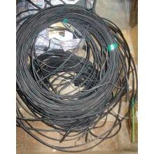 Оптический кабель Б/У для внешней прокладки (с металлическим тросом) в Перми, оптокабель БУ (Пермь)