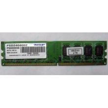 Модуль оперативной памяти 4Gb DDR2 Patriot PSD24G8002 pc-6400 (800MHz)  (Пермь)