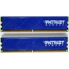 Память 1Gb (2x512Mb) DDR2 Patriot PSD251253381H pc4200 533MHz (Пермь)