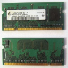 Модуль памяти для ноутбуков 256MB DDR2 SODIMM PC3200 (Пермь)